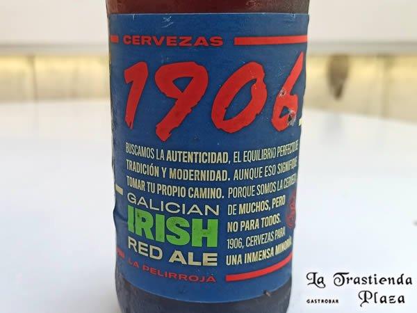 Cerveza 1906 La Pelirroja