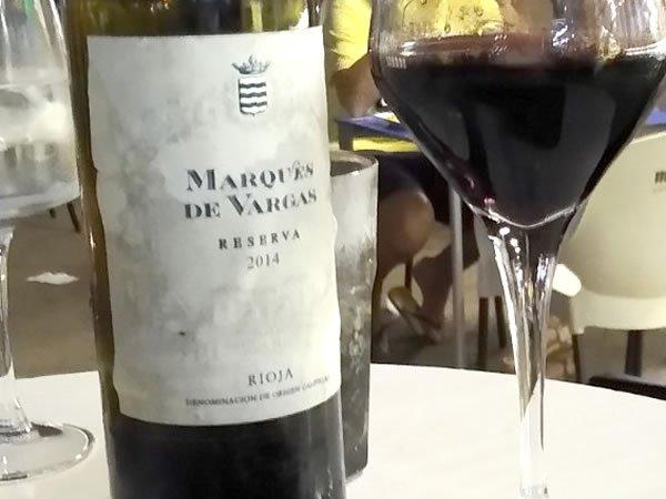 Vino Marqués de Vargas